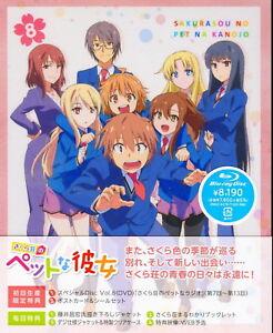 Sakurasou-no-Pet-na-Kanojo-VOL-8-Japon-2-Blu-ray-T48-ZD