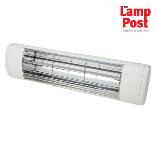 BN Thermic HWP2-W 1.5kW High Quality Wall Mounted Garden Patio Heater White