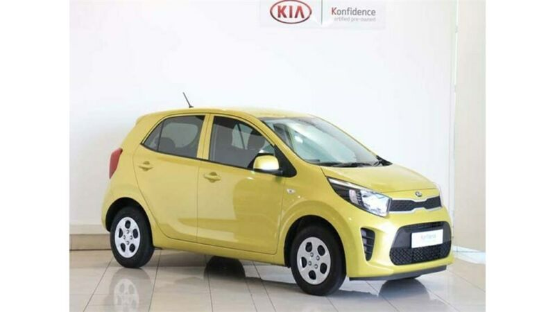 Kia Picanto 1.0 Start, Green with 56km, for sale!