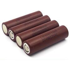 4 New Original Authentic Genuine LG HG2 3000MAH High Drain 35A IMR 18650 Battery