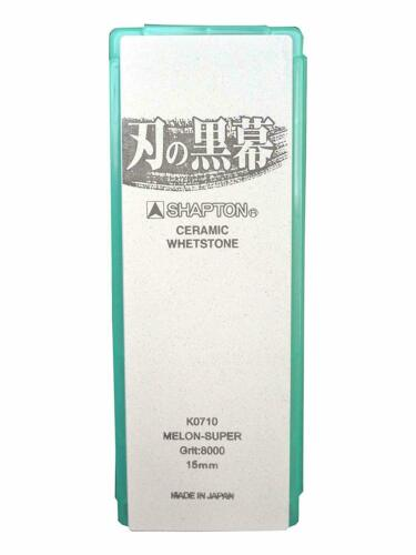 Japanese Whetstone Sharpening Stone Shapton Ceramic Kuromaku #8000 K0710