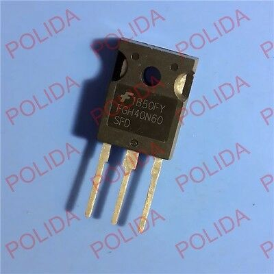 5pcs FGH40N60SFD TO-247 FAIRCHILD
