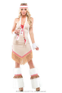 5f6c8063e99 Details about Womens Sexy Native Beauty Halloween Costume