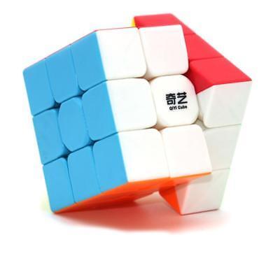 QIYI Warrior W 3x3x3 Speed Cube Puzzle Twsity Game Bright Stickerless Kids Toys