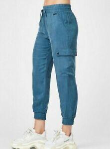 Sweaty-Betty-STARGAZER-7-8-Cargo-Pantalones-Tamano-S