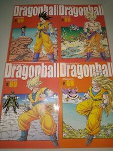 Dragon-Ball-Power-Level-69-Manga-Japones-Tomos-1-A-4-Coleccion-Completa