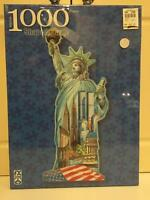 1000pc. Statue of Liberty Shaped Puzzle - 00099252780068 Toys