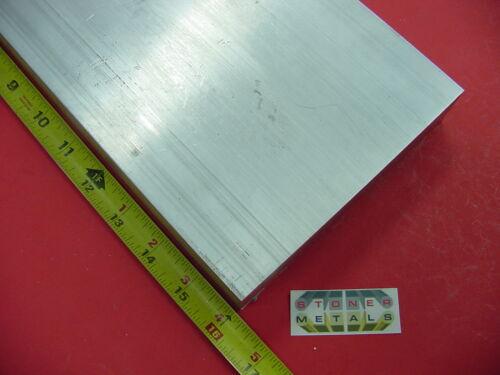 "2-1//2/"" X 6/"" ALUMINUM 6061 FLAT BAR 16/"" long SOLID T6511 2.50/"" Plate Mill Stock"