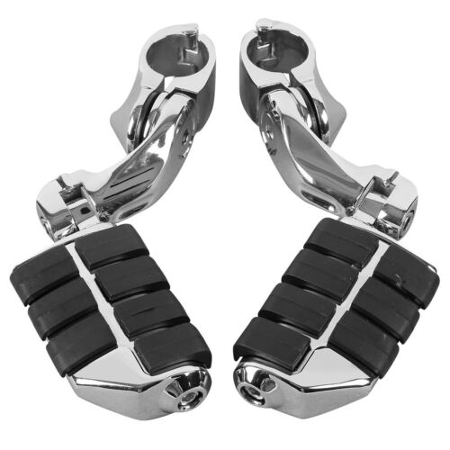 Color : Black BMD-Store 1 Pair Universal 8mm Aluminum Motorcycle Passenger Rear Foot Pegs Pedals Footrests For Honda Suzuki Yamaha Modification Parts,