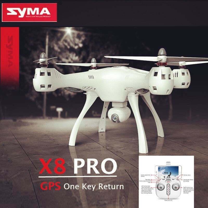 SYMA X8PRO GPS Return Quadcopter WiFi FPV Real-time Camera D