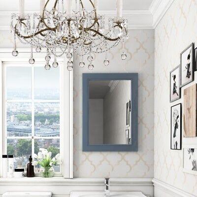 700mm Victorian Blue Oak Framed