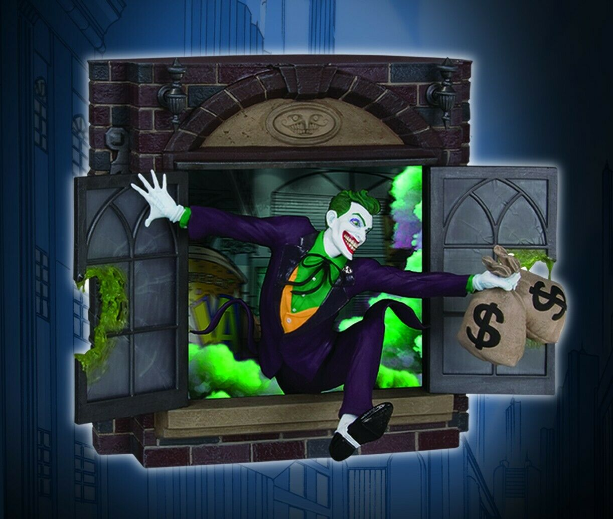 GOTHAM CITY STORIES STATUE the Joker Limited Edition by Joseph Menna DC Direct