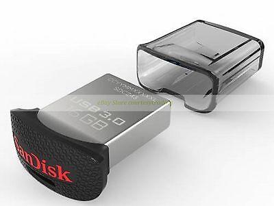 SanDisk USB 16GB 16G Ultra Fit USB3.0 Flash Pen Drive Mini Nano New
