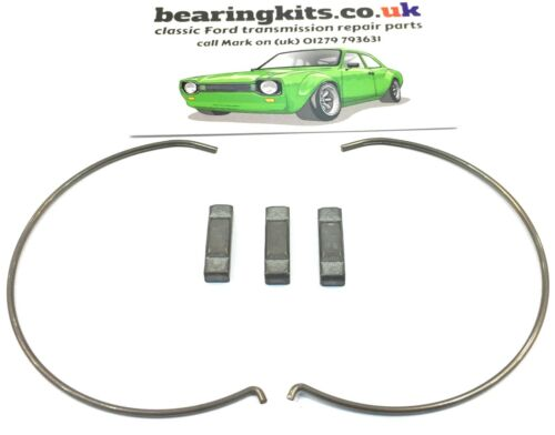 Ford 3rd /& 4th gear Type 9 gearbox synchro hub springs and blocker bar set