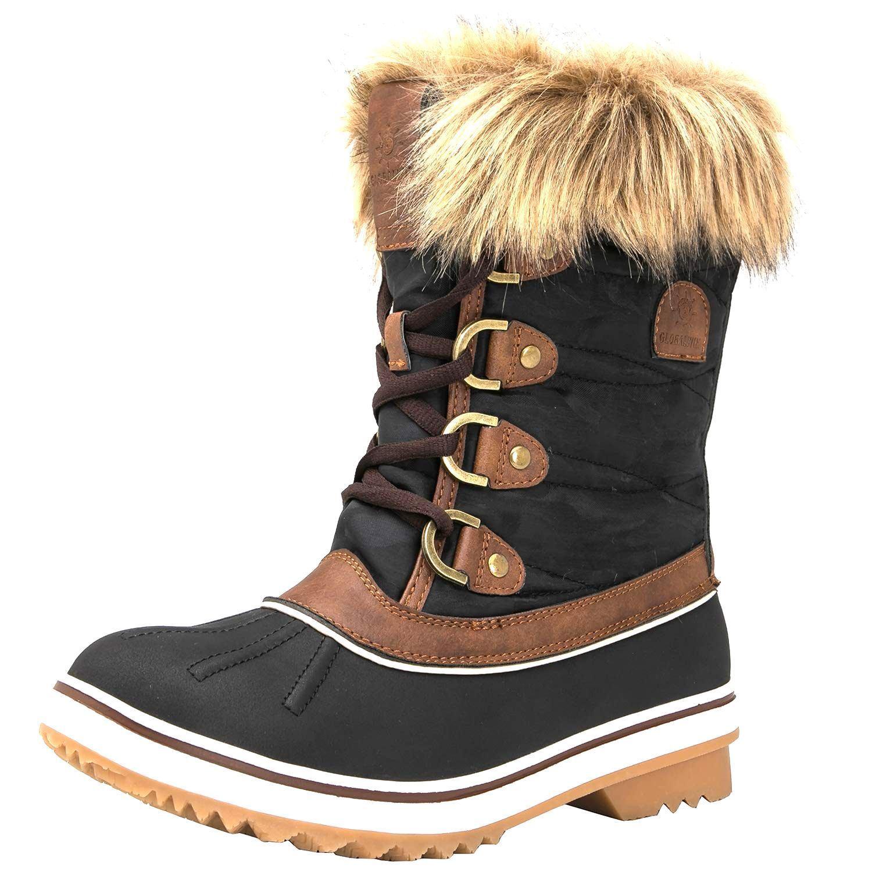 Genuino ganar global global global (W1838-3) Marrón Talla 6 para mujer botas de nieve   Nuevo en Caja  Hay más marcas de productos de alta calidad.