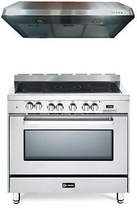 36 Electric Range >> Details About Verona Vefsee365ss 36 Electric Range Oven Stainless Steel 2 Pc Kitchen Package