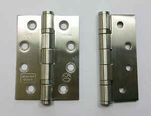 Grade 13  Brass Ball Bearing Fire Door Hinges new quality 2 new pairs 100mm