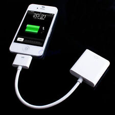 30Pin Dock Connector to VGA Adapter Converter Cable For i Pad 2 3 iPhone 4 4S