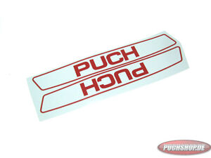 Details About Puch Maxi Tank Sticker Set Whitered Sticker Set Original Show Original Title