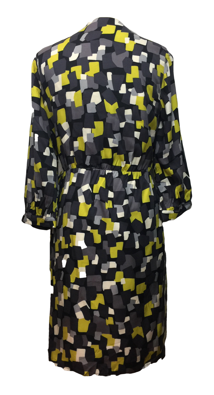 NEW BODEN Women's Geometric Dot Wrap Viscose Silk Dress Size Size Size US 10  47c1aa