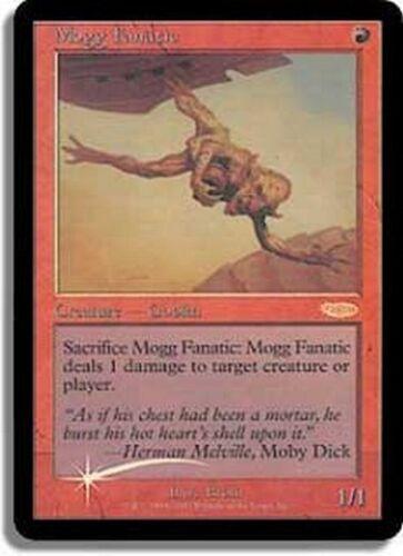 FOIL PROMO DCI Mogg Fanatico Mogg Fanatic MTG MAGIC English