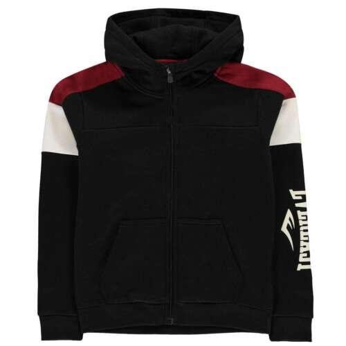 Everlast Kids Boys Zip Hoodie Hoody Hooded Top Long Sleeve Cotton Regular Fit