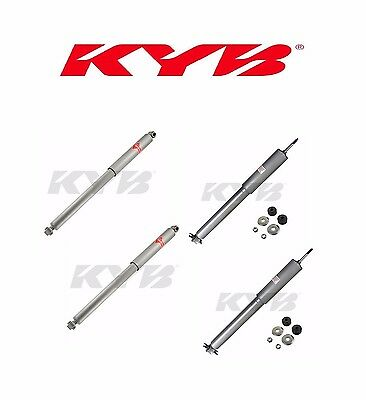 4-KYB Gas-A-Just Gas Shock Absorber(2-Front&2-Rear)Grand Cherokee KG5487 KG5464