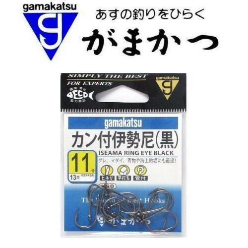 Gamakatsu Iseama Ring Eye Hooks