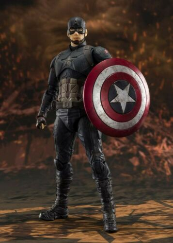 Final Battle Edition Captain America Marvel Avengers Endgame SH Figuarts PR