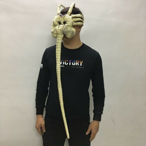 Alien Facehugger Mask Latex Figure Cosplay Props Halloween Mask for Adult