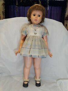 Vintage-Playpal-Horsman-Doll-35-034-Tall-1959-034-Princess-Peggy-034