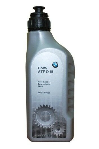 3 Liters Of Bmw Automatic Transmission Fluid D Iii Part