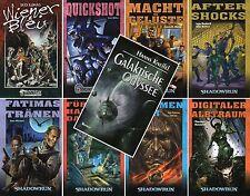Bundle-8 x SHADOWRUN-Bd. 41, 66, 74, 78-82 + Galaktische Odyssee-Science Fiction