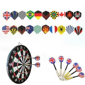 60Pcs-lot-Dart-Flights-in-20-Arten-von-Mustern-Nice-Flight-Darts-Neu-Q1X0