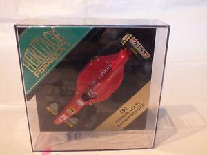Heritage Formule 1 - 190 Ferrari 412 T1 Gerhard Berger Onyx-lot Px736
