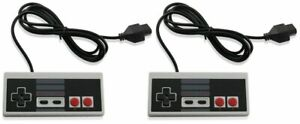 2-Pack-Controller-For-NES-004-Original-Nintendo-NES-Vintage-Console-Wired-Gamepd