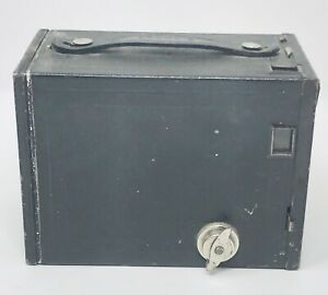 Antique 1914 Eastman Kodak Brownie No 2 Model F Box Camera Black Made In Usa Ebay