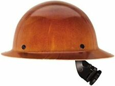 New Msa 475407 Skullgard Protective Hat With Fas Trac Suspension Tan