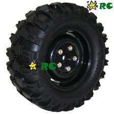 RC 1/10 1.9 in 90mm Tires Wheels F Axial tamiya Wild Willy rc4wd Crawler (2pcs)