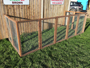Details about Individual Small Panels 16G Fox / Dog Proof Cat Safe Animal  Run Rabbit Chicken