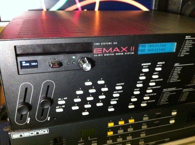 USB Floppy emulator with 900+ loaded disk img for EMU Emulator EMAX II 2 Sampler