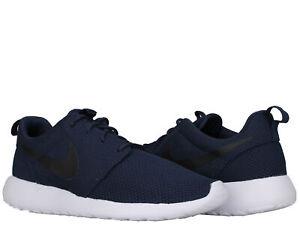 Detalles acerca de Nike Roshe One azul marino nocheNegro Blanco De Hombre Zapatos Para Correr 511881 405 mostrar título original