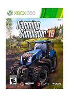 Farming Simulator 15 - Xbox 360 Free Shipping