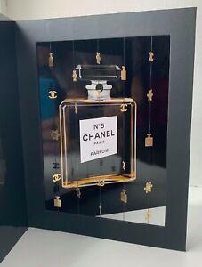 CHANEL-VIP-GIFT-postcard-big-no-5-parfum-BOTTLE-very-rare