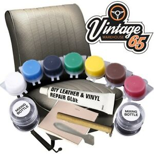 range rover classic leather vinyl seat door scuff scratch tear hole repair ebay. Black Bedroom Furniture Sets. Home Design Ideas