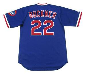 fad960935 Image is loading BILL-BUCKNER-Chicago-Cubs -1983-Majestic-Cooperstown-Throwback-