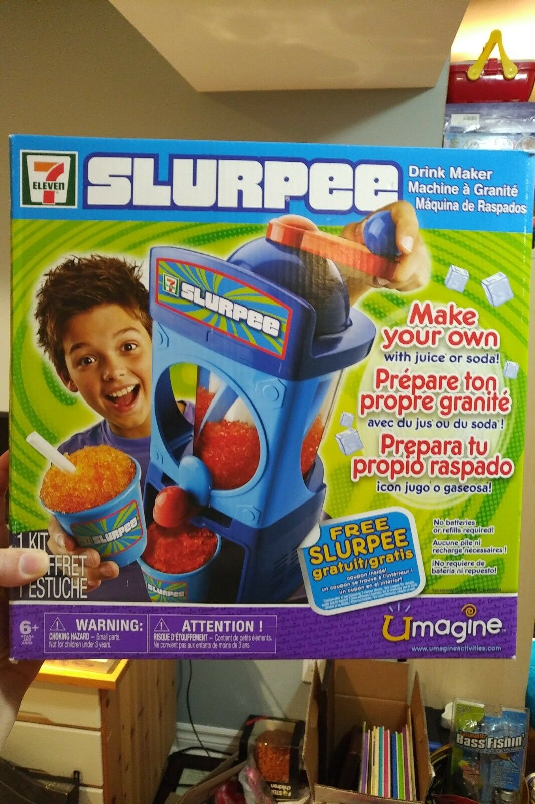 7 -Elva Slurpee Drink Maker Slushie Frozen Drink Maker Spin Master New