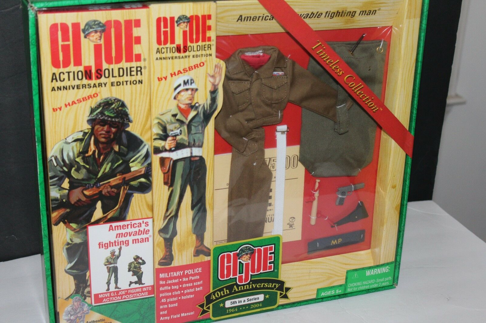 G.I. G.I. G.I. JOE ACTION SOLDIER MILITARY POLICE TIMELESS COLLECTION 40th ANNIV 5 SERIES 23aa93
