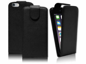 FLIP-BLACK-WALLET-PU-LEATHER-CASE-COVER-FOR-VARIOUS-PHONES-FREE-EU-SHIPPING