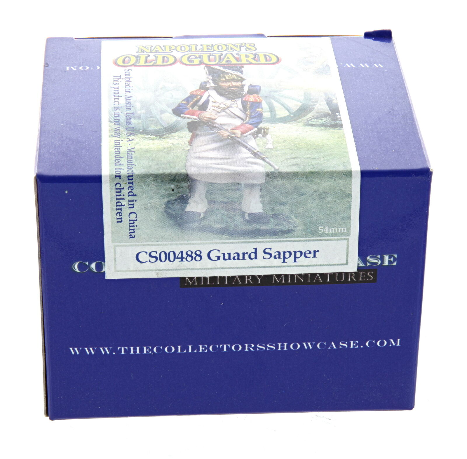 Collectors Showcase Guard Sapper CS00488 - Napoleon's Napoleon's Napoleon's Old Guard Collection 2bb8bd